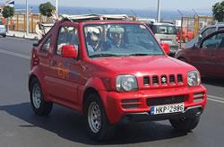 Jeep 4x4 huren op Kreta, bij Eye Drive autoverhuur in Heraklion Kreta.