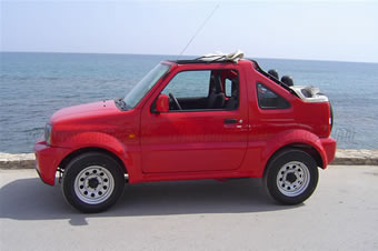 Suzuki Jimny 4X4 cabrio